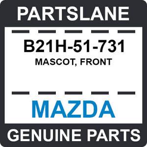 B21H-51-731 Mazda OEM Genuine MASCOT, FRONT