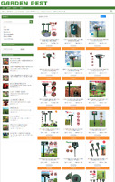 GARDEN PEST CONTROL WEBSITE BUSINESS WITH 1 YEARS HOSTING & NEW DOMAIN