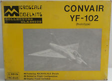 AVIATION : CONVAIR YF-102 1/60 SCALE MODEL KIT MADE BY MICROSCALE MODEL KITS