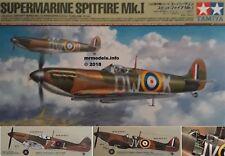 Tamiya 1/48 Supermarine Spitfire Mk.I Fighter New Plastic Model Kit 61119 1 48