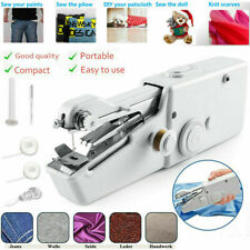 Mini Electric Portable Handheld Cordless Sewing Machine Hand Stitch Home Clothes