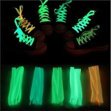 Fashion 1pair 120cm Glowing Sport Shoelace Toys Glow In The Dark Luminous Shoe