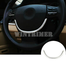New listing Inner Steering Wheel Sequins Cover Trim 1pcs For Bmw 5 Series F10 F11 2011-2016