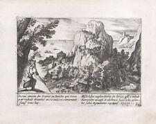 GIOSUE' GERICO - Incisione Originale 1706 Iollain - Joshua Jericho Jeoshua