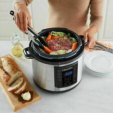 Crock-Pot SCCPPC600-V1 Programmable Pressure Multi Cooker - Stainless Steel