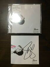 SELENA GOMEZ AUTOGRAPHED / SIGNED CD Booklet RARE SOLD OUT In Hand