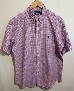 Ralph Lauren Polo Mens Custom Fit Short Sleeve Shirt  Size 16.5