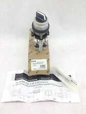 NEW! EATON  HT8JBH1DF1Q1 3-POS SELECTOR SWITCH, SERIES A1   FAST SHIP!!! (H157)