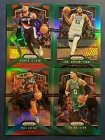 2019-20 Prizm Basketball Green Refractor Parallel Pick Your Card