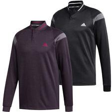 adidas Golf Warmth Hybrid Mens 2 button Sweater