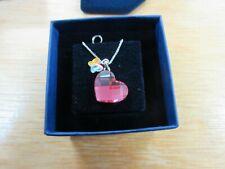 Swarovski Heart Pendant 0877254 Mini Heart And Butterfly Pendant