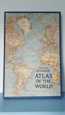 National Geographic Atlas of the World - Grosvenor - De-luxe Boxed 1963