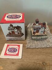 New listing Liberty Falls Americana Collection Ah01 Liberty Falls Train Station 1991 w/Box