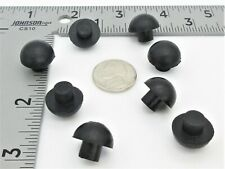 8MM Tall Rubber Feet  Push-In Mushroom Style for Electronics - 8MM Hole, 16MM OD