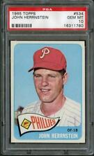 1965 Topps 534 John Herrnstein Phillies PSA 10  16311780