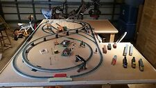 HO Train Set Layout (4x8+) with Premium Table