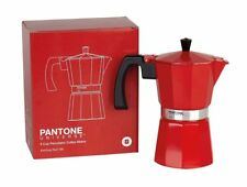 PANTONE UNIVERSE 6 Cup Percolator Coffee Maker - Ketchup Red 186 - BRAND NEW