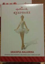 "2014 Hallmark Keepsake ""Gracefull Ballerina"" Christmas Ornament - New in Box"