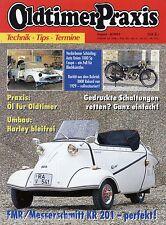 Oldtimer Praxis 8 93 1993 Auto Union 1000 Sp Messerschmitt KR201 Opel Kapitän PL