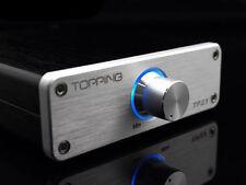 TOPPING TP23 16Bit 48KHz TA2021B USB DAC Digital Class T-AMP Amplifier Silver