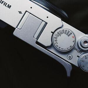 Design for Fujifilm XE4 Hot Shoe Cover Aluminum Thumb Rest Grip Thumb Grip