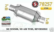 "Eastern Universal Catalytic Converter Standard Catalyst 2"" Pipe 10"" Body 70257"