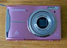 Olympus FE FE-46/X-42 12.0MP Digital Camera Flamingo Pink 6.3-31.5mm 1:3.5-5.6