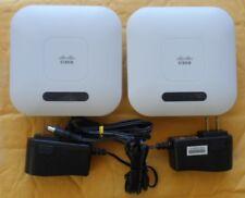 LOT TWO CISCO WAP121 Business WAP121-A-K9-NA IEEE Wireless Access Point