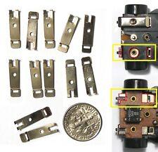 12 TYCO Vintage Slot Car Chassis U-Turn PICK UP SHOE RETAINERS UnusedFactoryStk