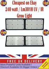 LED Grow Light Samsung LM301H IR & UV full spectrum 240 watt Quantum Board 2000w