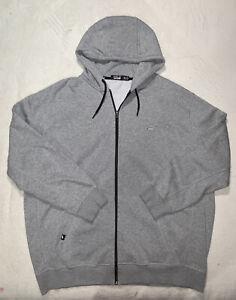 Mens Gray Ralph Lauren POLO SPORT full zip Hoodie sz 3XLT