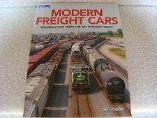 Modern Freight Cars- A Model Railroader book by Jeff Wilson