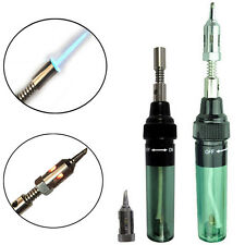 Mini Gas Blow Torch Soldering Solder Iron Gun Butane Cordless Welding Pen Burner