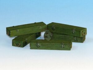 Eureka XXL 1/35 Wooden 7.5cm Tank Ammo Crates Jagdpanzer Panther (5 boxes) E-013