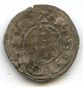 Berry Comté de Déols Raoul VI (1160-1176) Denier