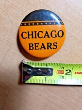 Vintage CHICAGO BEARS pin button pinback - 1950's ?????