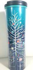 Starbucks Christmas Tree Tumbler Acrylic 16 oz Holiday 2018 Swivel Lid NEW