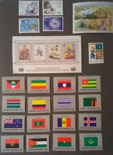 UN NY 1986 United Nations Scott 468-493 Complete MNH Year Set Lot 86* With Flags