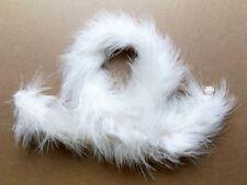"1976 Cher 12"" mego doll - Star Brite - White Feather Boa"