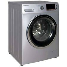 """EdgeStar Cwd1550 24""""W 2.0 Cu. Ft. Ventless Front Loading Electric - Silver"""
