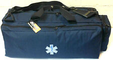 Medic EMS EMT Paramedic First Responder Oxygen Trauma Gear Bag - Navy Blue