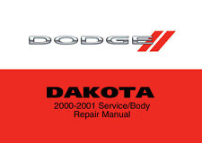 Dodge Dakota 2000 2001 Service Repair Workshop Factory Manual Disc