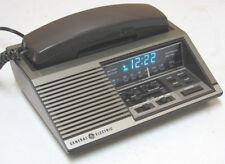 vintage GE  7-4737A Telephone /  Alarm Clock / AM, FM  Radio  Works Perfectly!