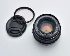 Pentax SMC Pentax-M f/1.7 50mm Standard Lens Prime Caps & Filter (#3437)