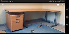 IKEA GALANT Eckschreibtisch Schreibtisch in Buche 120x160cm