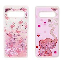 SAMSUNG GALAXY S20 note 10 PLUS LITE Liquid Glitter Quicksand Bling Case Cover