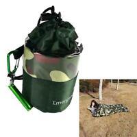 Notschlafsack Camouflage wasserdicht thermisch wiederverwendbar Survival C Nett