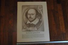 Wonderful Vintage Painting Graphics Edge Yakubovich Portrait William Shakespeare