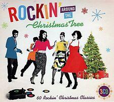 Various Artists : Rockin' Around the Christmas Tree CD (2013)
