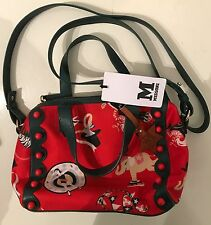 Authentic Missoni made in Italy circus print small bag red green rare